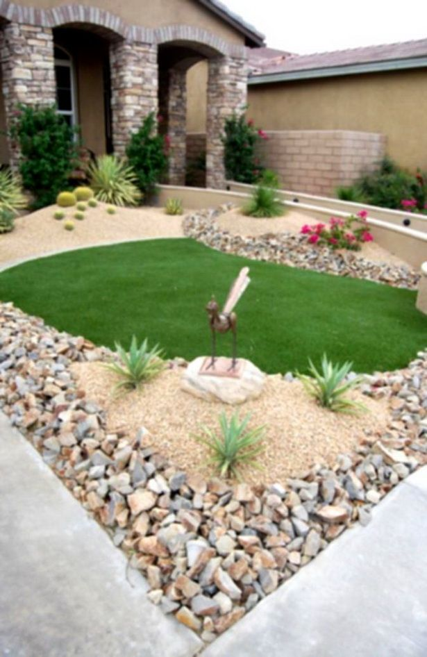 Desert Rock Garden Ideas Let's Get Rocked Pinterest Gardens