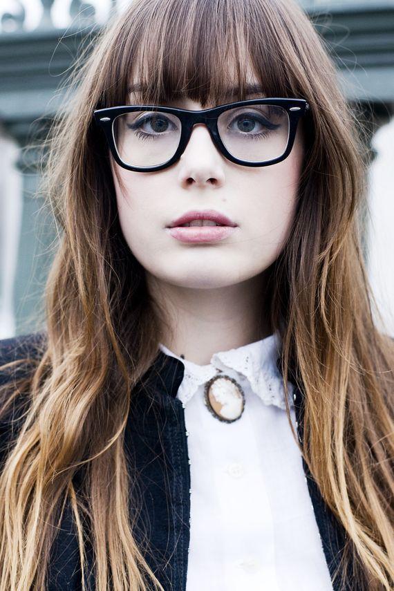 Frisur Schulterlang Brille Moderne Mnnliche Und