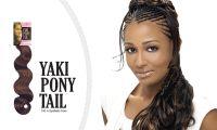 Harlem 125 Synthetic Yaki Pony Braiding Hair   Pony and Wig