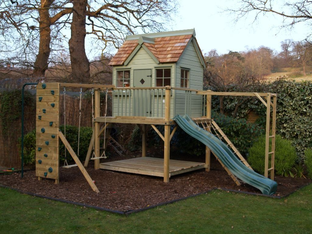 How Build Raised Garden Playhouse