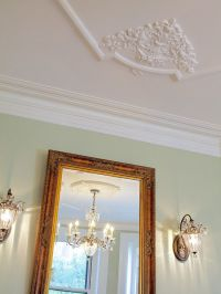 gorgeous ceiling and wall decor www.invitinghome.com ...