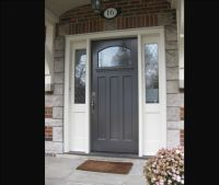 Front Entry Doors with Side Lights