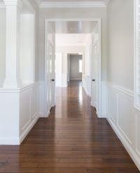 Wall color is Benjamin Moore Pale Oak. A very versatile ...