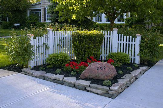 corner fences design