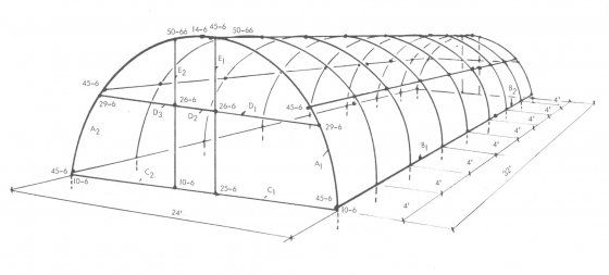 High Tunnel Hoop House Plans House And Home Design