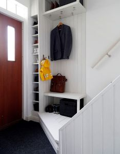 Find this pin and more on hall good idea also best images about pinterest laundry rooms ladders rh
