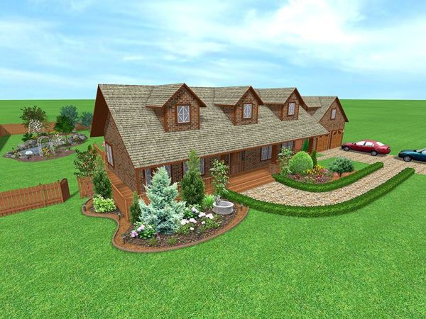 acreage landscaping ideas