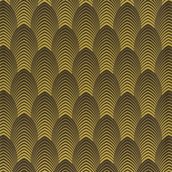 Art Deco Pattern Gold