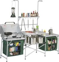 $250 Amazon.com: Outdoor Deluxe Portable Camping Kitchen ...