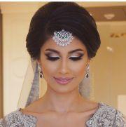 punjabi bridal hairstyle