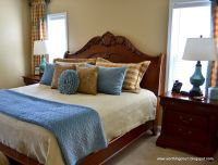blue and tan bedroom ideas