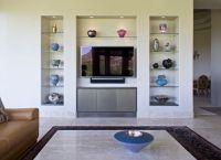 Gorgeous Floating Glass Shelves mode Phoenix Modern Living ...