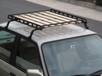 wood roof rack diy