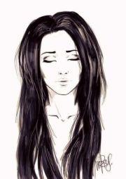 long hair duga kosa crtanje