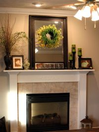How to Decorate A Fireplace Mantle | Christmas Decor for ...
