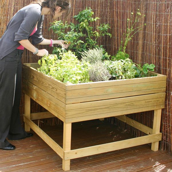 Raised Garden Bed Plans Raised Or Elevated Garden Beds Using Logs Bricks Or