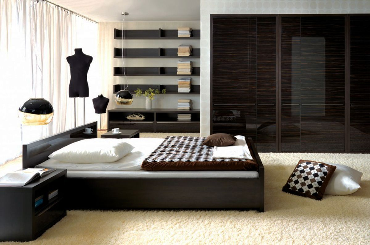 Low Profile Platform Bed Frame Displaying Interesting Bedroom Decoration That Will Stun You