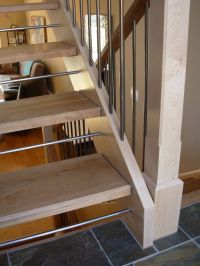 Stair safety for open riser stairs | Kids. Baby Love ...