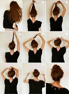 17 Quick And Easy DIY Hairstyle Tutorials Easy Hairstyles Easy