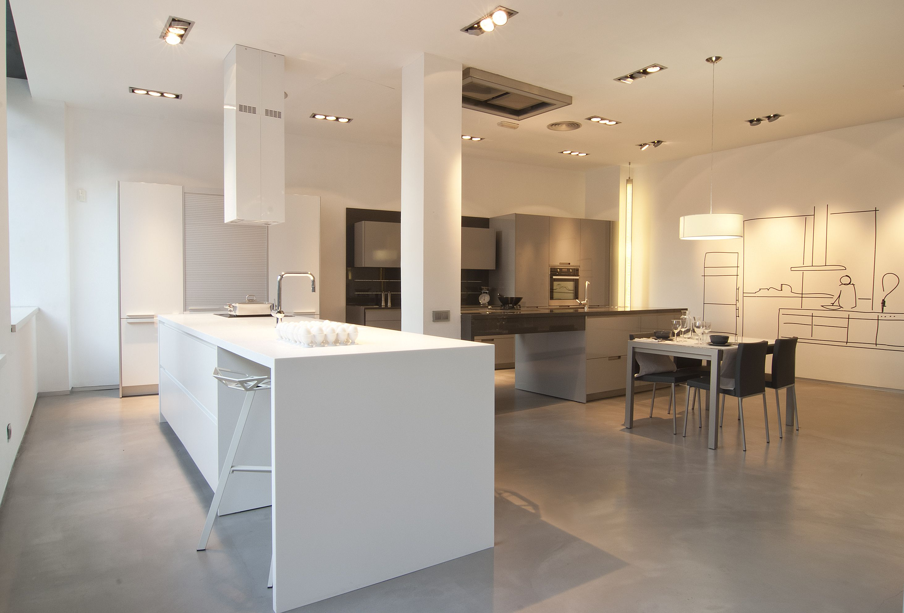 Cocinas Santos on Pinterest  Drawers Kitchens and Wall Units