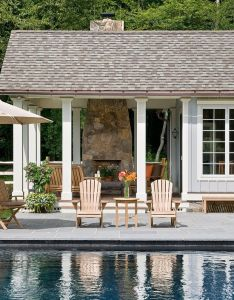 Kw to dm ma another pool house design with an indoor area and outdoor protected seating ideas pictures remodel decor also farm kitchen page rh pinterest