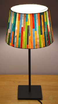 Glass Mosaic Lamp Shade | Mosaics, Glass and Lights