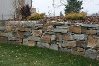 Chief Cliff Drystack garden wall from Montana Rockworks # ...