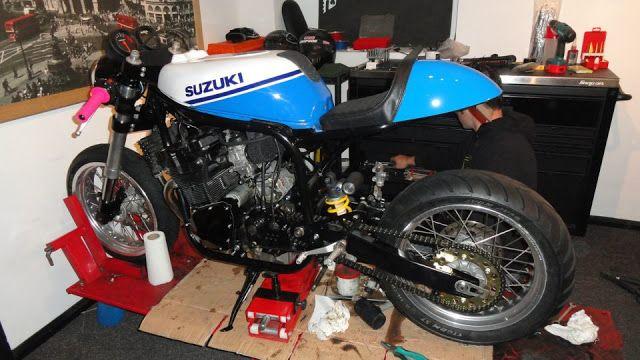 1988 Suzuki Savage Cafe Racer
