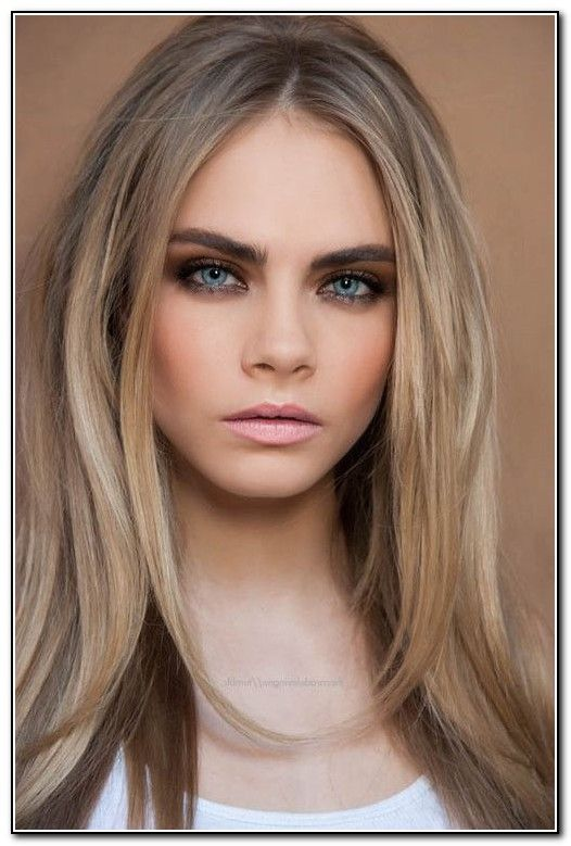 Bleach Blonde Hair With Dark Eyebrows 526×779 Reference
