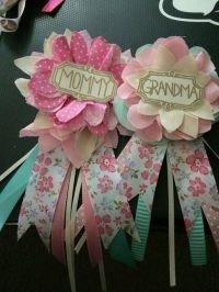 17 DIY Baby Shower Ideas for a Girl | Diy baby, Corsage ...
