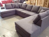 Double Chaise U-Shape Sectional - $1500. 84 inches by 144 ...