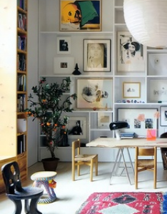 space saving ideas to add shelving units modern interior design also rh pinterest