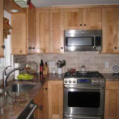 Craftsman Kitchen Backsplash Drawers Or Cabinets In Style Maple With Tile