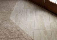 Transition From Carpet to Tile Entry with Traditional ...