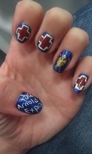 arnold fitness expo medical nail