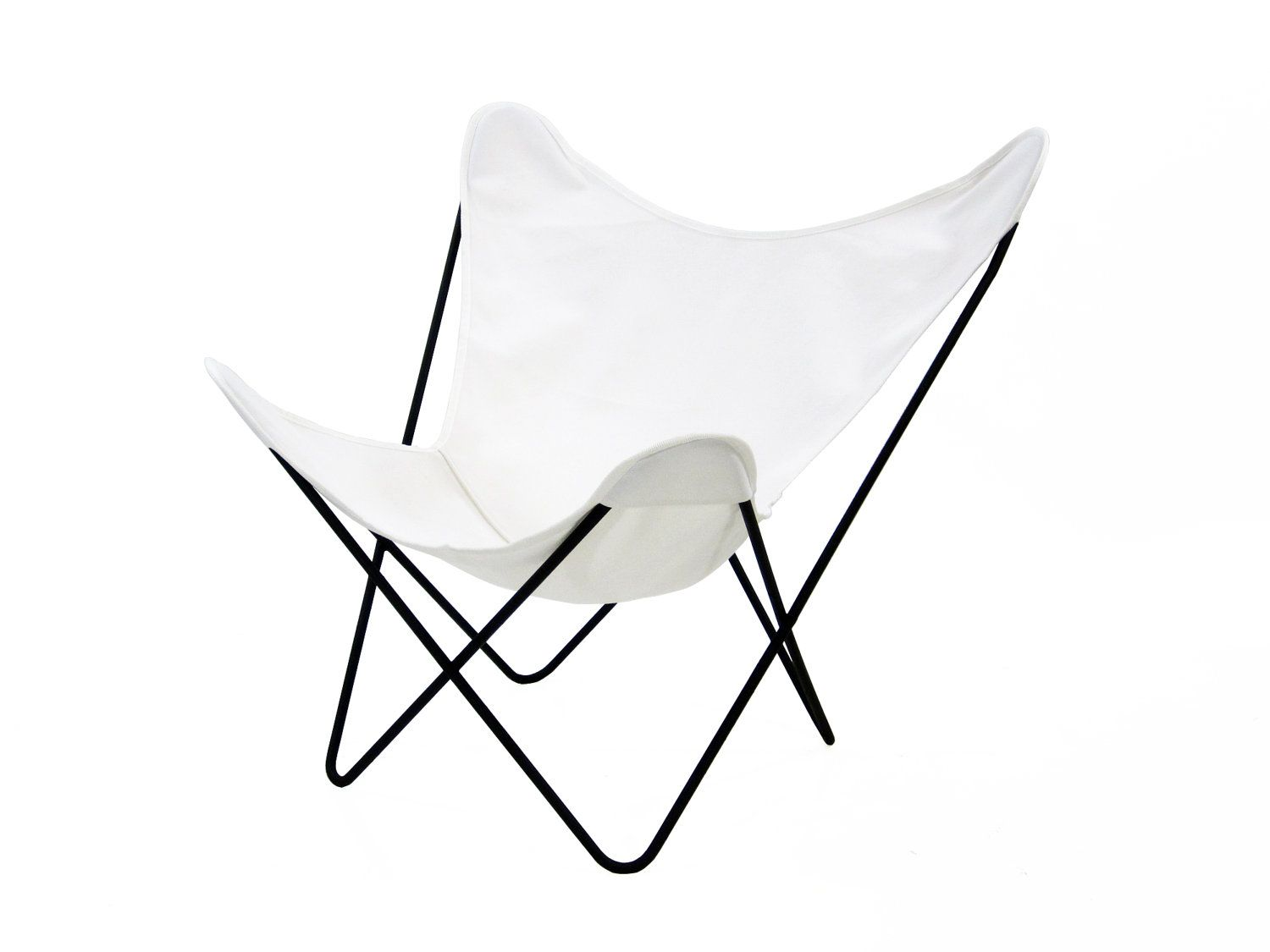Canvas Sling Chair Vintage Knoll Hardoy Bkf Butterfly Chair With White Canvas