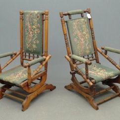 Slipcover For Rocking Chair Glider Green Papasan Antique Victorian Platform Chairs | Fashion Pinterest And