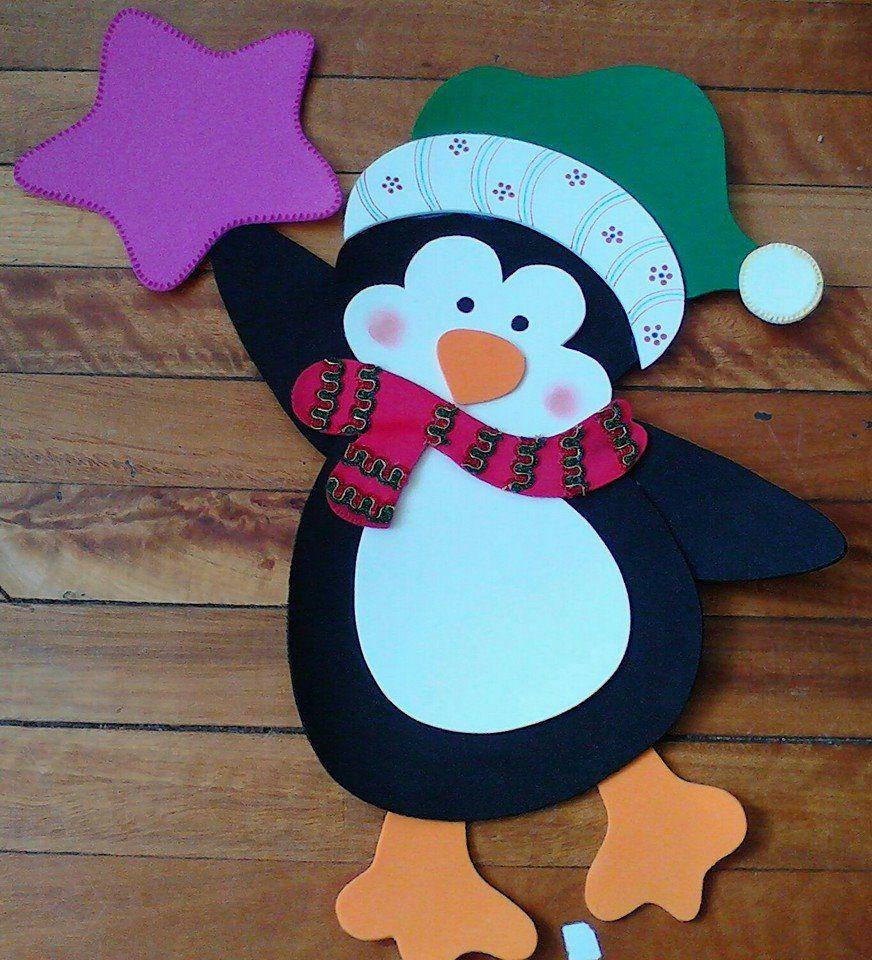 Pinterest Easy Christmas Crafts Penguins