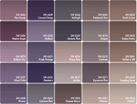 best paint color for walls with purple