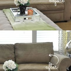 How To Clean Suede Sofa Covers Standard Sizes Set Fix Smashed Couch Cushions | Upholstery, Living ...