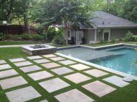 AWARD Winnning House synthetic turf poolside | Landscape ...