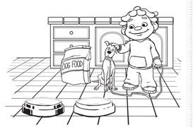 FREE Coloring and Activity Pages: Sid the Science Kid