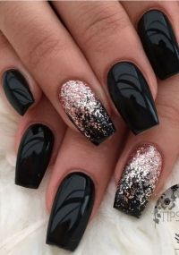 # Black Nail Art | Nail Designs | Pinterest | Black nail ...