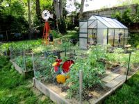great layout idea for a small urban farm- chicken coop ...