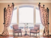 Cool Modern Arched Window Treatments Ideas   Drapes ...