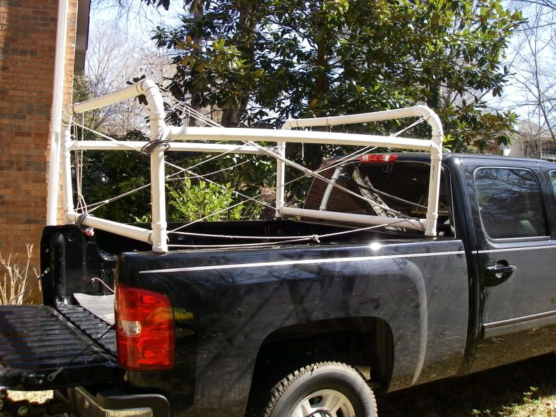 Homemade Pvc Kayak Truck Rack