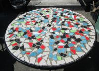 How to Design Mosaic Table Top with Ceramic Tiles ...