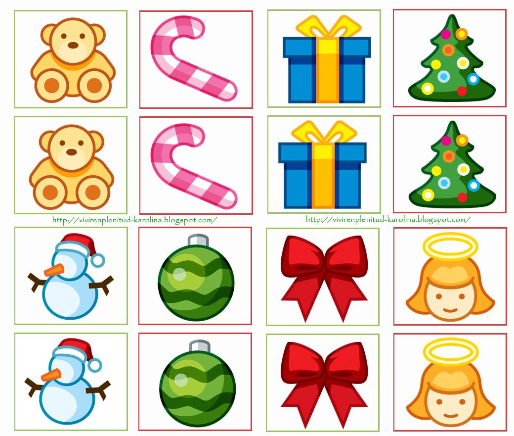 Dulces Momentos Memorama Navidad
