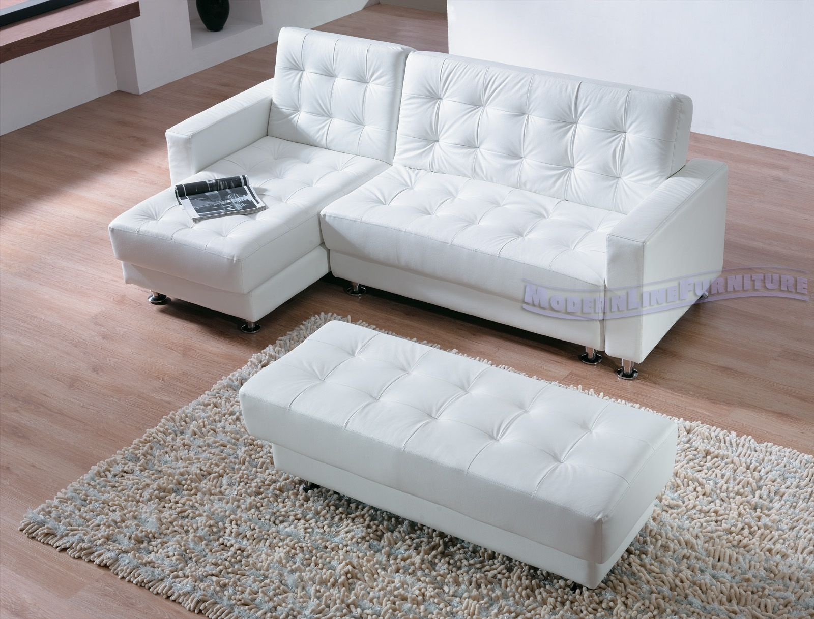 sleeper sofa leather white very cheap sofas contemporary sectional with an