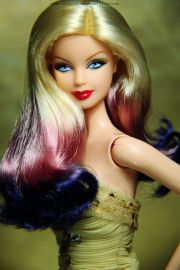 ombre hair barbie doll gorgeous